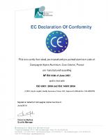 CAA- CE certificate