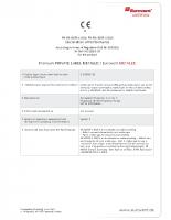 Eurovent Metallic teljesítmény nyilatkozat