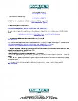 Mapeplan m 15 teljesítmény nyilatkozat